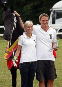 Familie Habermann mit Merel S.R. Ster